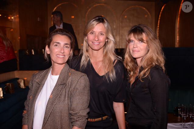 Exclusif - Mademoiselle Agnès (Agnès Boulard), Sarah Lavoine et Gwendoline Hamon lors de la soirée d'inauguration du club Manko à Paris, France, le 12 septembre 2019. © Rachid Bellak/Bestimage