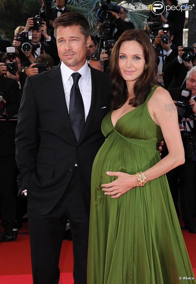 Angelina Jolie Vivienne And Knox. Angelina Jolie, enceinte de