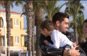 DALS 2019 : Christophe Licata en larmes avec sa femme Coralie devant leur fils