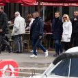 Le président Emmanuel Macron et sa femme Brigitte passent le week-end de la Toussaint à Honfleur, deuxième jour, le 1er novembre 2019. Comme tous les week-ends de Toussaint, le président Emmanuel Macron et sa femme Brigitte sont à Honfleur dans le Calvados où ils sont arrivés le mercredi 30 octobre dans la soirée. Ils logent à la Ferme Saint-Siméon, un hôtel cinq étoiles de Honfleur. De leur hôtel, ils sont venus à pied pour déjeuner au Bistrot des Artistes, où ils ont leurs habitudes depuis des années et où ils avaient déjà déjeuné et dîné la veille. Ils sont ensuite allés se promener sur la jetée du port.