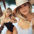 Kaitlynn Carter et Miley Cyrus sur Instagram. 10 août 2019