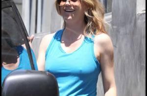 Ellen Pompeo de plus en plus ronde.... vous a enfin décroché un sourire ! Ouf, il était temps...