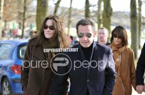 Première apparition du nouveau couple présidentiel : une promenade dans le parc du château de Versailles