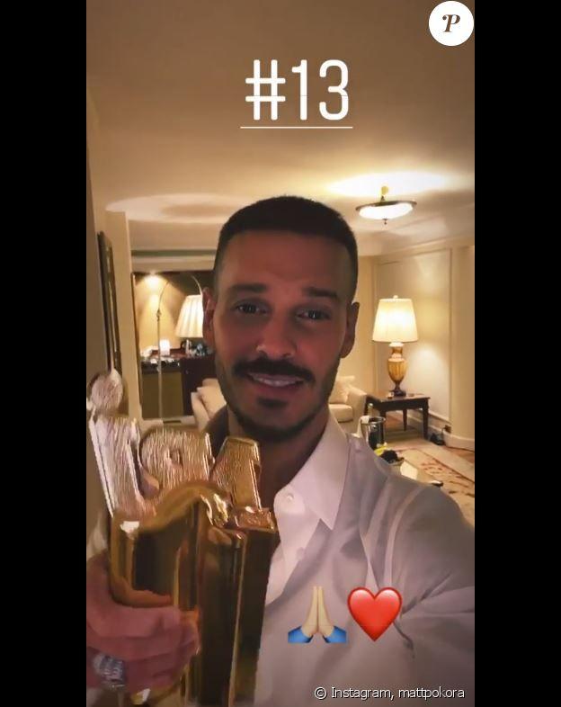 M. Pokora a reçu le 13e NRJ Music Award de sa carrière le 9 novembre 2019, lors de la 21e cérémonie des NRJ Music Awards.
