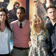Rachel Nichols, Marlon Wayans, Sienna Miller et Channing Tatum lors du photocall de G.I. Joe : le réveil du Cobra à Sidney le 20 juillet 2009