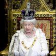 La reine Elizabeth II à Londres, le 3 décembre 2008.