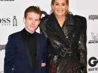 Sharon Stone honorée devant son fils adoptif Roan