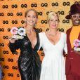 """Sharon Stone, Jessica Peppel Schulz (PDG de Conde Nast Allemagne) et Billy Porter à la soirée des """"GQ Men of the Year Awards"""" à l'Opéra-Comique de Berlin, le 7 novembre 2019."""