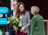 Kate Middleton : Casual chic pour une belle visite au bras de William