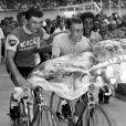 Archives - Raymond Poulidor et Jacques Anquetil. Le 14 juillet 1964 © Imago / Panoramic / Bestimage