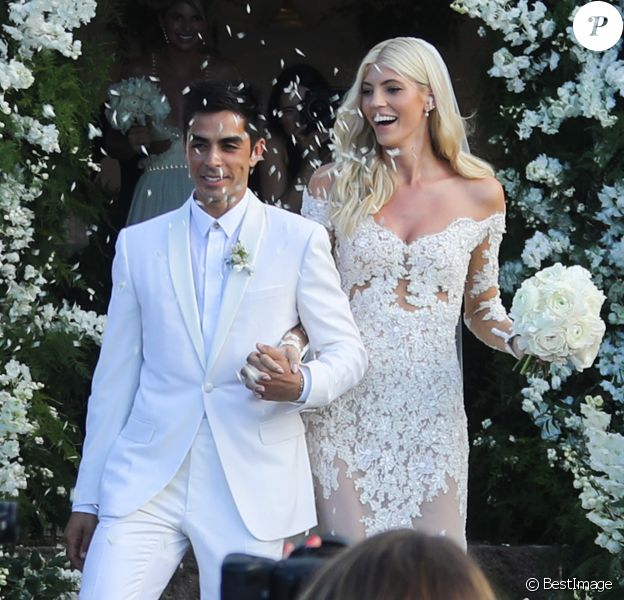 Devon Windsor et son mari Johnny Dex se sont mariés à Saint-Barthélemy, le 16 novembre 2019.