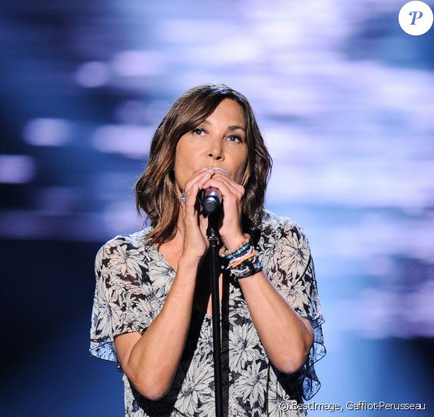 """Exclusif - Zazie - Enregistrement de l'émission TV """"La Chanson Secrète 3"""", qui sera diffusée le vendredi 1er novembre à 21h00 sur TF1. © Gaffiot-Perusseau / Bestimage"""