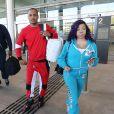 Exclusif - Le rappeur T.I. , alias Clifford Joseph Harris Jr arrive à l'aéroport sur la Gold Coast dans le Queensland le 19 novembre 2015