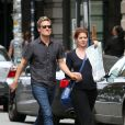 Debra Messing et Will Chase en août 2012 à New York