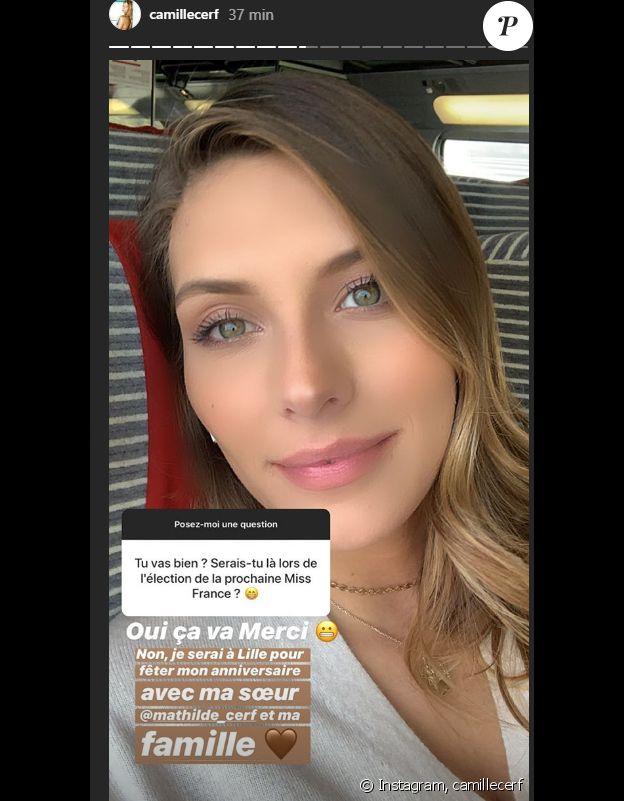 Camille Cerf répond aux questions des internautes sur Instagram - 22 novembre 2019