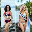 Les Miss lors du voyage Miss France 2020, à Tahiti, en novembre 2019.