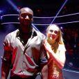 """Ladji Doucouré et Inès Vandamme lors de la finale de """"Danse avec les stars"""" en direct sur TF1, le 23 novembre 2019."""