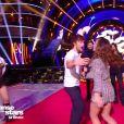 """Clément Rémiens et Denitsa Ikonomova lors de la finale de """"Danse avec les stars"""" en direct sur TF1, le 23 novembre 2019."""