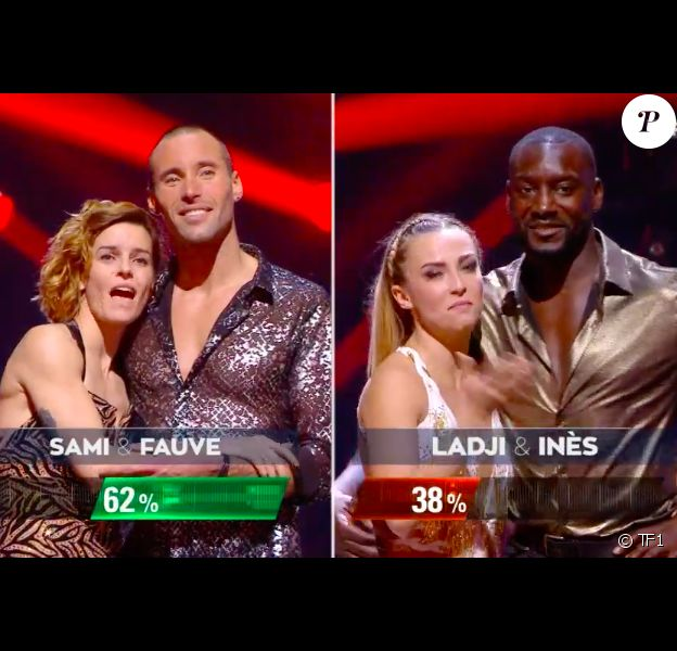 "Sami El Gueddari et Fauve Hautot remportent la finale de ""Danse avec les stars"" en direct sur TF1, le 23 novembre 2019."