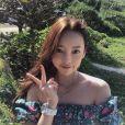 Hara (Goo Ha-Ra), star de la K-Pop et ex-membre du girlsband Kara, a été retrouvée morte le 24 novembre 2019 dans son appartement à Séoul. Photo issue de son compte Instagram.