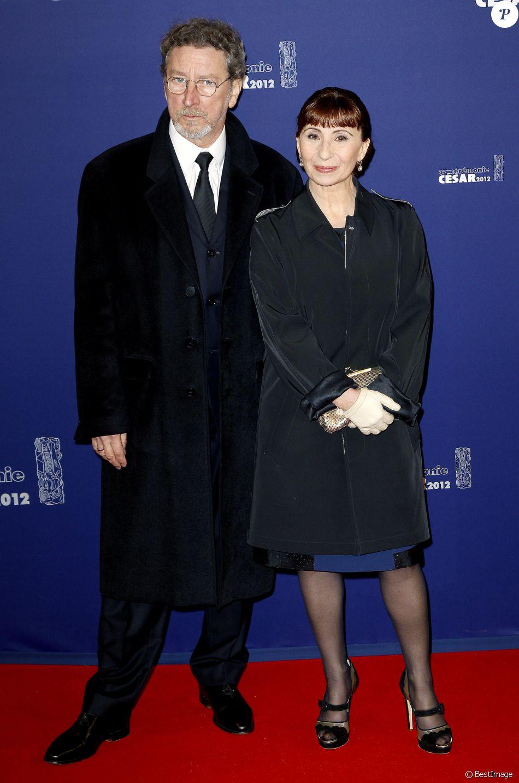 Ariane Ascaride Et Son Mari Robert Guediguian A La 37eme Ceremonie Des Cesar En 2102 Purepeople