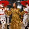 Exclusif - Christina Milian (enceinte) lors de la 15ème édition du Casa Fashion Show sous le thème de la Dolce Vita au Sofitel Casablanca Tour Blanche à Casablanca, le 12 octobre 2019. © Philippe Doignon/Bestimage
