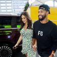 Ashley Graham (enceinte) et son mari Justin Ervin arrivent au défilé Prêt à porter Serena Williams Printemps/Eté 2020 lors de la Fashion Week de New York City, New York, Etats-Unis, le 10 septembre 2019.10/09/2019 - New York