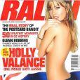 Holly Valance... tellement sexy en couverture de Ralph !
