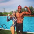 """Amélie Grégoire, candidate de """"Koh-Lanta"""" saison 4 et Laurent Maistret - Instagram, 30 septembre 2019"""