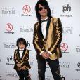Johnny Christopher et son père Criss Angel à la 30ème soirée annuelle Producers Guild Awards à l'hôtel The Beverly Hilton à Beverly Hills, Los Angeles, le 19 janvier 2019