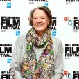 "Maggie Smith - Photocall du film ""The Lady in the van"" lors du BFI , le Festival du Film de Londres à Londres, le 13 octobre 2015."