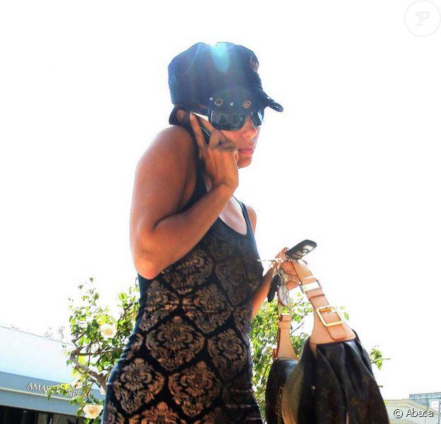 Eva Longoria à Los Angeles (Etats-Unis, 24 juillet 2009)