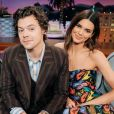 """Kendall Jenner et Harry Styles dans """"Spill Your Guts Or Fill Your Guts"""" pour l'émission """"The Late Late Show With James Corden"""". Décembre 2019."""