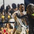 Zozibini Tunzi, Miss Afrique du Sud, a été sacrée Miss Univers 2019 à Atlanta, le 8 décembre 2019.