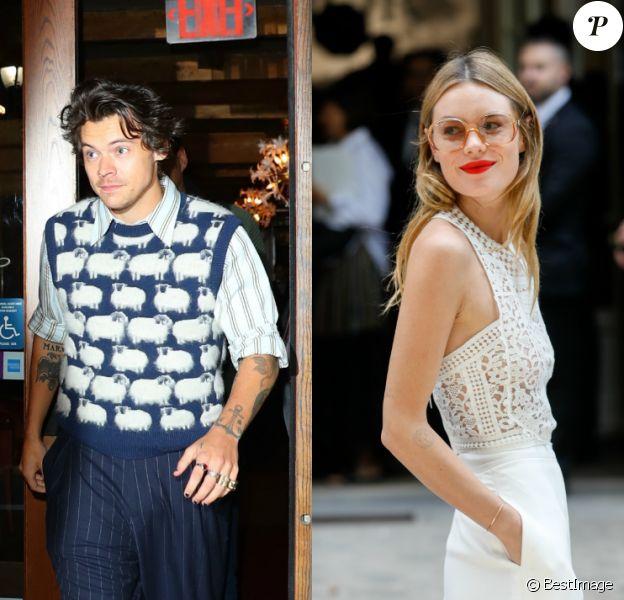 """La Française Camille Rowe présente sur le nouvel album de son ex-petit-ami Harry Styles """"Fine Line"""", sorti le 13 décembre 2019."""