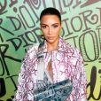 Kim Kardashian assiste au défilé Dior, collection homme automne-hiver 2020, au Musée Rubell. Miami, le 3 décembre 2019.