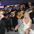 Ivana Trump à la soirée Bacardi, à Saint-Tropez. 26/07/09