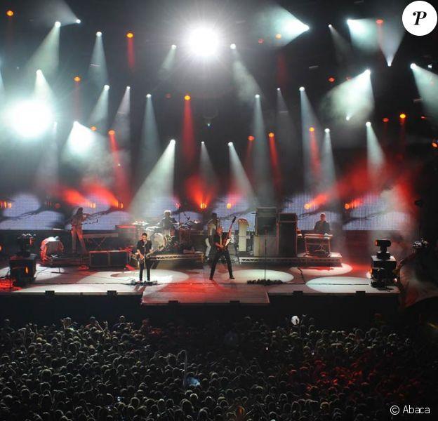 Brian Molko et Placebo en concert au Paléo Festival 2009, en Suisse