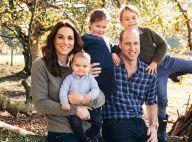 Kate Middleton et William : Photo de famille originale pour leur carte de voeux