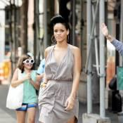 Rihanna : La star nous offre enfin un look réussi... Admirez le travail !