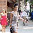 Rihanna à New York dans le quartier de Tribeca le 28 juillet 2009