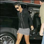 Une Rihanna superbe mais... suivie par son ex Chris Brown !