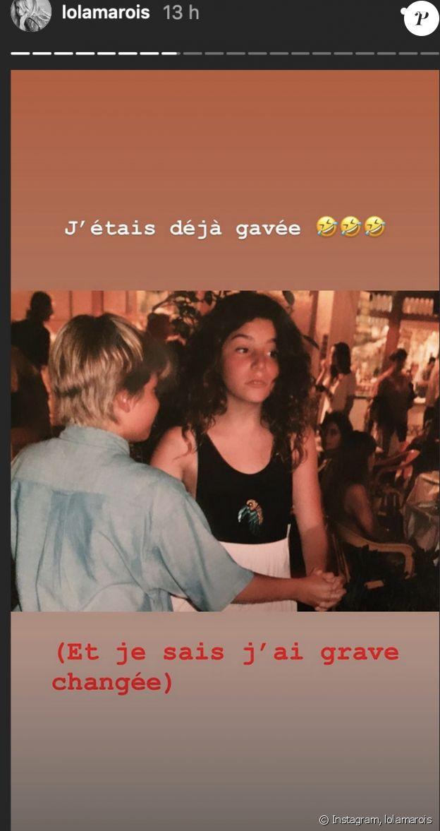 Lola Marois dévoile une photo d'elle enfant - Instagram, 22 décembre 2019