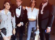 Nabilla : Emerveillée à la fête de Karim Benzema, il fait le show avec un sabre