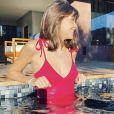 Ophélie Meunier en voyage à Marrakech - Instagram, 30 décembre 2019