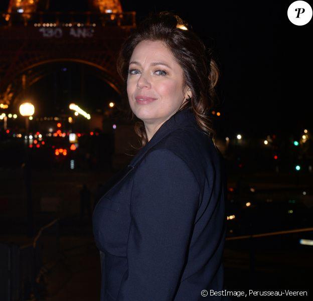Exclusif - Isabelle Boulay - Backstage du concert anniversaire des 130 ans de la Tour Eiffel à Paris, qui sera diffusé le 26 octobre sur France 2. Le 2 octobre 2019. © Perusseau-Veeren/ Bestimage