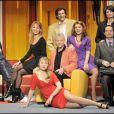 """Sonia Dubois, Steevy, Indra et toute l'équipe pour la pièce """"Ma femme est folle"""""""