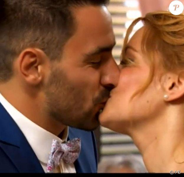 """Mariage de Romain et Delphine dans """"Mariés au premier regard 2020"""", le 6 janvier, sur M6"""