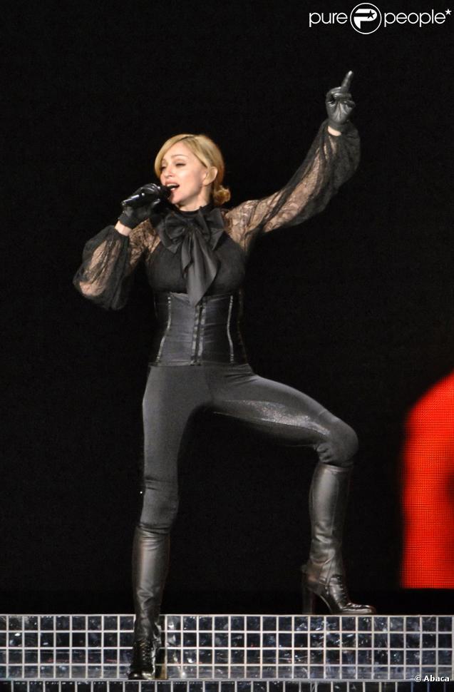 Madonna en concert en Russie en 2006