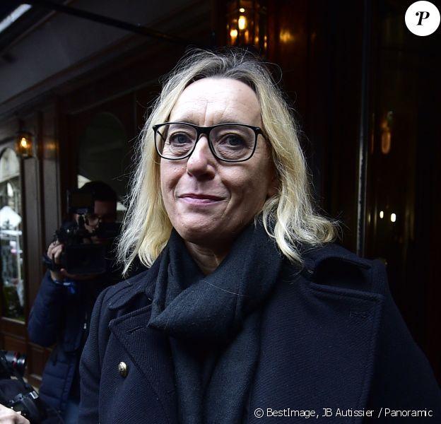 Virginie Despentes - Les invités du prix Goncourt 2019 à la sortie du restaurant Drouant à Paris le 4 novembre 2019. © JB Autissier / Panoramic / Bestimage